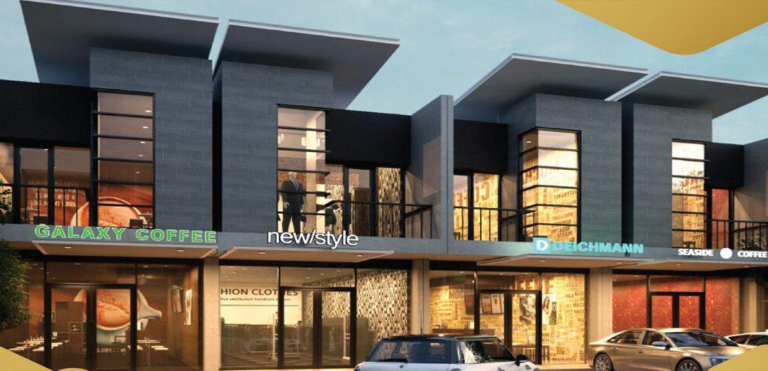 Rukan 2 Lantai Sarijadi Galery Bandung